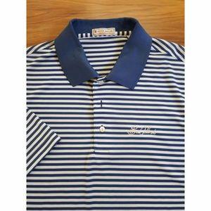 Peter Millar Golf Polo Shirt SUMMER COMFORT Sz L